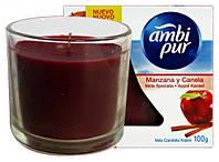 Ambi Pur свеча ароматизированная Яблоко-корица, 100 г