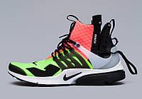 "Кроссовки NikeLab Air Presto x Acronym Mid ""Hot Lava Volt"""