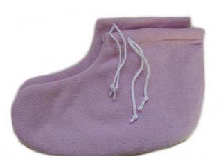 Носочки для парафинотерапии флисовые, белые