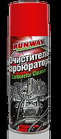 Очиститель карбюратора Runway Carburetor Cleaner, аэрозоль, 400мл, RW6081