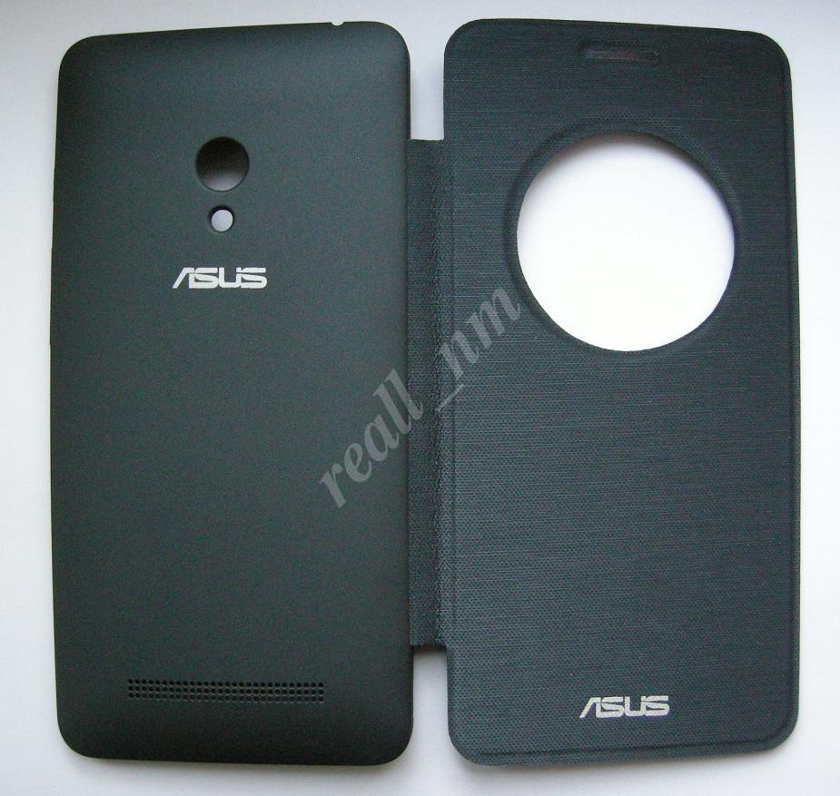 Темно-синий чехол Smart Cover для смартфона Asus ZenFone 5