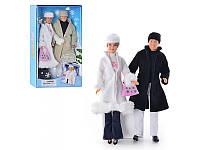 """Кукла """"Defa Lusy""""с Кеном 20989 в зимней одежде"""