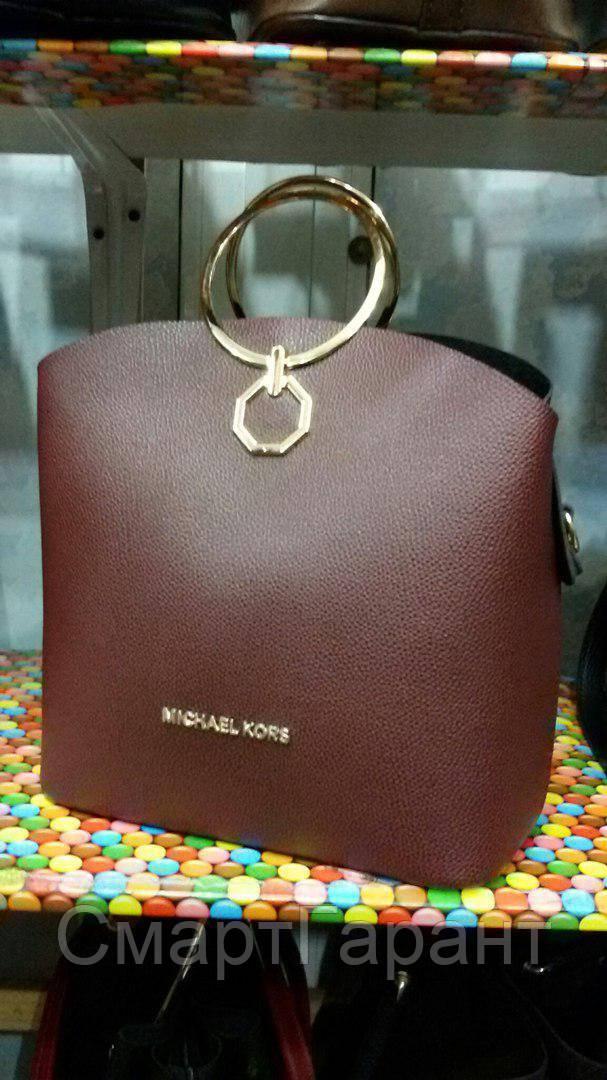 45571be68a10 Стильная сумка Michael Kors под кожу c круглыми ручками: продажа ...