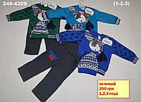 Детская одежда оптом из Турции.  Костюм для мальчика с шапочкой 1/3 года