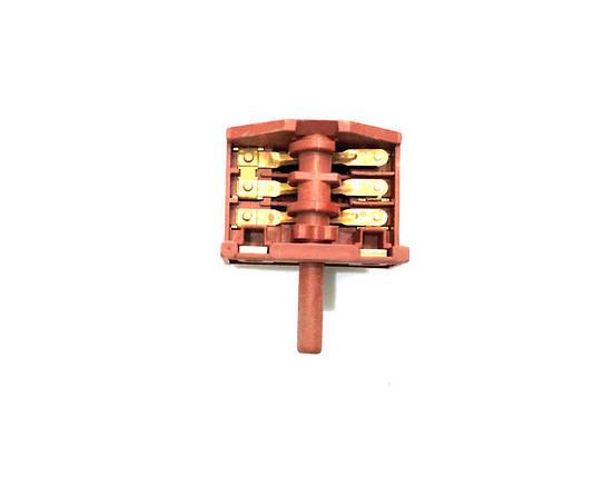 Переключатель для электроплиты Whicepart (3+3) XZ307/16А/250V/Т125, фото 2