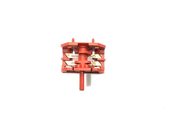 Переключатель (2+2) для электроплит (16А/250V/Т125), фото 2