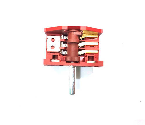 Переключатель для электроплиты Majade (3+2) XZ307B/20А/250V/Т150, фото 2