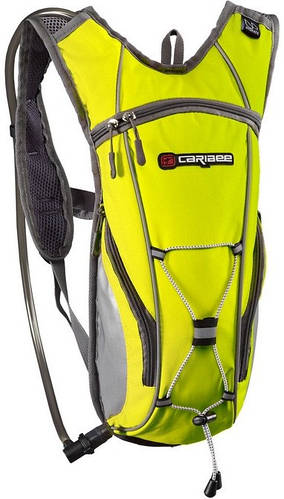 Велорюкзак Caribee Hi Vis Flow 2L Yellow, 920957