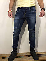 Чоловічі джинси INFOR'S HOMME DENIM оригінал 105758 сині 28-33, фото 1