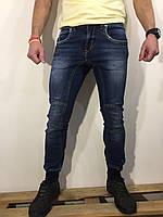 Мужские джинсы INFOR'S HOMME DENIM оригинал 105758 синие 28-33