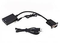 Товар имеет дефект Переходник с VGA+Audio на HDMI Уценка №209