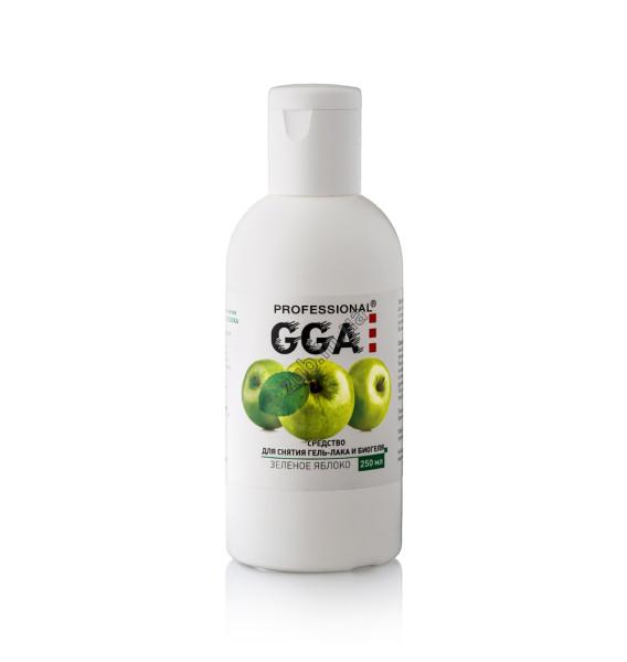 Средство для снятия гель лака Яблоко GGA 0,25 л.
