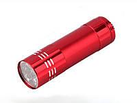 Ліхтар 9 діодів 9/3 Bailong RT-907  Червоний