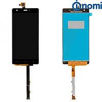 Дисплей (LCD) Nomi i506 Shine с сенсором синий