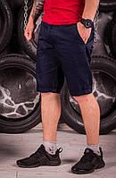 Модные мужские шорты карго - черные