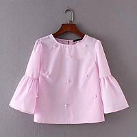 Блуза женская с бусинами , фото 1
