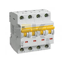 Автоматический выключатель ВА47-60 4P, 50 A, D IEK