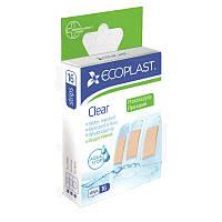 Набор пластырей медицинских полимерных Прозрачный ЄCOPLAST 16 шт.
