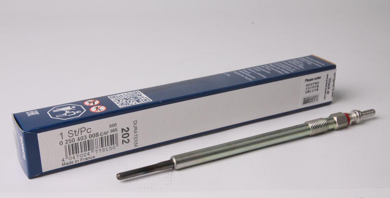 Свічка розжарення MB Sprinter 906/Vito (W639) 3.0 CDI OM642 (4.4 V) Bosch