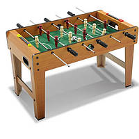 Футбол  деревянный - большой размер игрового поля и расположение игроков на поле придадут игре реальности