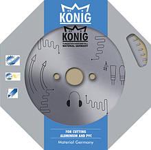Пильный диск по алюминию для резки пвх и алюминия