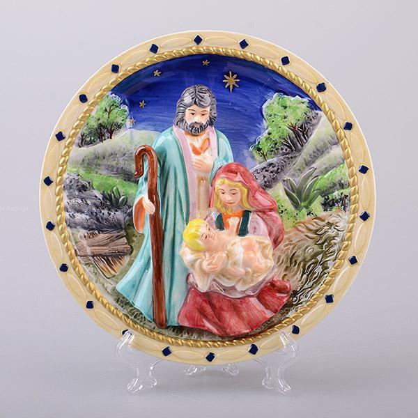 Декоративна тарілка Різдво 20 см 59-589