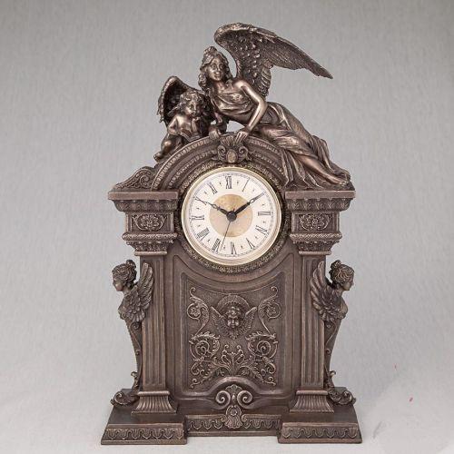 Годинники настільні Veronese Ангели 30 см 75241
