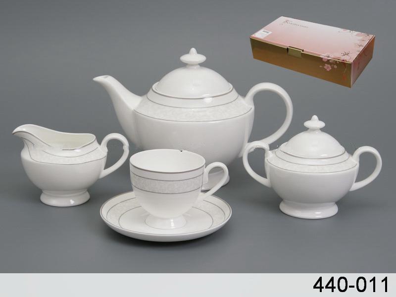Чайний набір Japan Sakura Щастя на 15 предметів 440-011