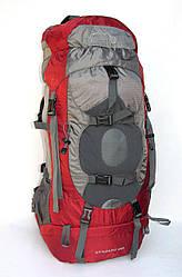 Туристический рюкзак Leadhake DG-058  красный 60 литров