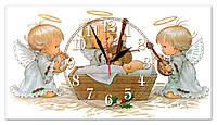 Часы настенные стеклянные Т-Ок 010 SG-2504501
