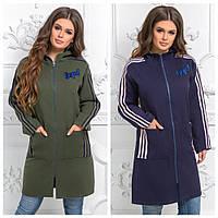 Спортивное молодежное кашемировое пальто 15896