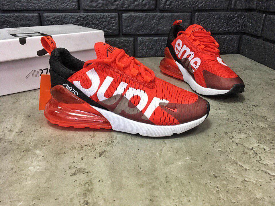92f9da5f Мужские кроссовки Nike Air Max 270 SUPREME (реплика) - Интернет-магазин  вещей