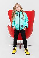 куртка на девочку весна -осень размер 122, 128, 134 ,140, 146,152