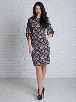 Качественное женское платье. Размер: 46, 48, 50, 52 Код:413314087