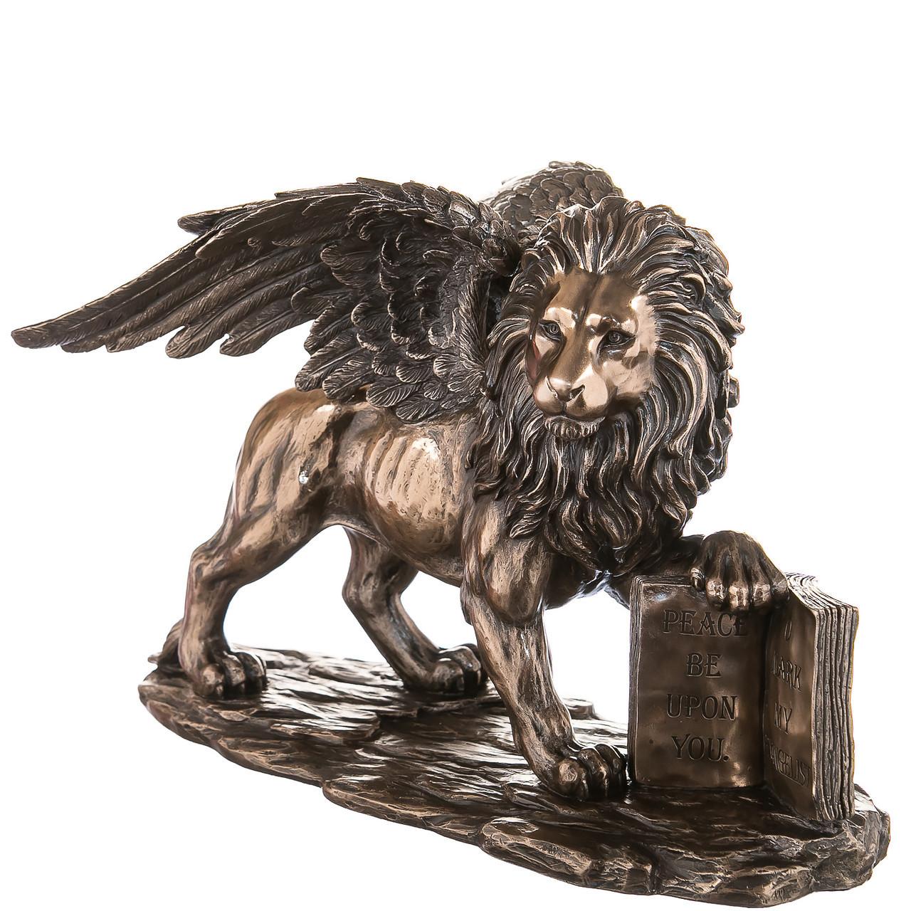 Статуетка Veronese Лев св Марка висота 17см 77040