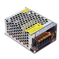 Импульсный блок питания 12В 2,1А в металлическом корпусе SVS-12A2
