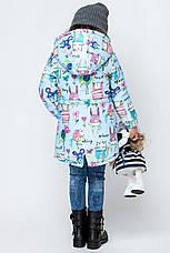 Утепленный детский весенний плащ  размер 92, 98, 104, фото 2