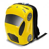 Рюкзак машинка Lamborghini Huracan жёлтый, 8 л, «Ridaz» (91101W-Yellow)
