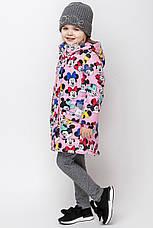 Осеннее детское пальто c микки маусом размер 92, 98, 104, 110, 116, 122, фото 3
