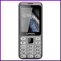 Мобильный телефон Sigma mobile X-style 33 Steel (GREY). Гарантия в Украине 1 год!