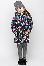 Осенняя удлиненная  куртка на малышей c микки маусом размер 92, 98, 104, 110, 116, 122, фото 3