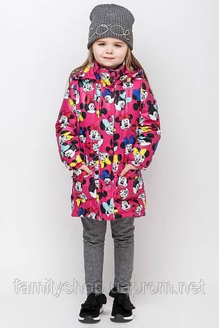 Осеннее детское пальто c микки маусом размер 92, 98, 104, 110, 116, 122, фото 2
