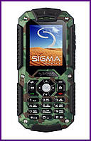 Телефон Sigma mobile Х-treme IT67 (Khaki). Гарантия в Украине 1 год!
