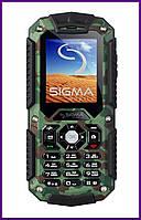 Телефон Sigma mobile Х-treme IT67 (Khaki). Гарантия в Украине 1 год!