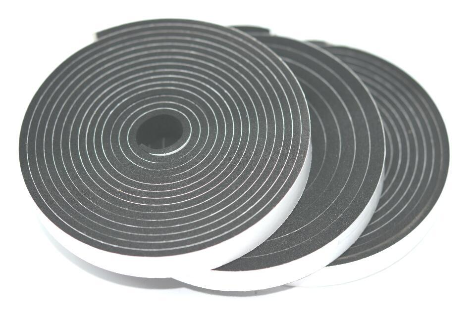 Уплотнительная лента EPDM 5мм*15мм*10м