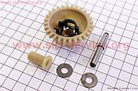 Регулятор оборотов двигателя в сборе комплект 5шт двигателя 168F, Honda GX 200, 6,5л.с., бензин, мотоблока, мотокультиватора