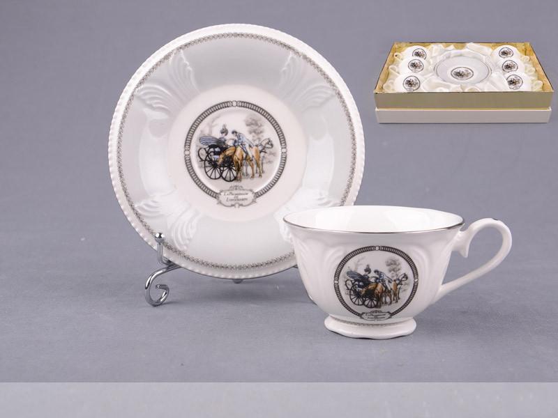 Кофейный набор Lefard Фаетон на 12 предметов 586-085