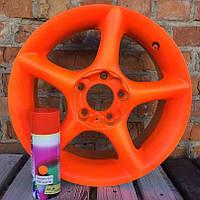 Краска аэрозольная с эффектом жидкая резина BeLife (Оранжевый)