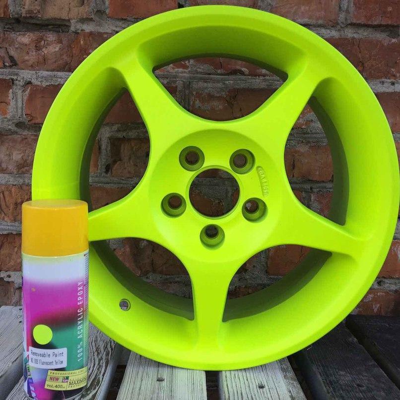 Жидкая резина для покраски авто BeLife (Желтый)