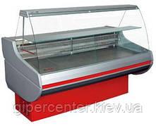 """Холодильная витрина РОСС """"Siena""""0,9-1,29 H, дл.1,3м,шир.0,9м,с пультом"""